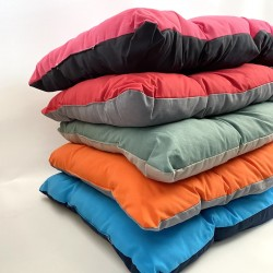 Coussin Bicolore Large